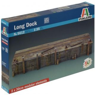 Model Kit budova 5612 - LONG DOCK (1:35)