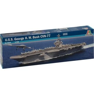 Model Kit loď 5534 - U.S.S. GEORGE H.W.BUSH CVN 77 (1:720)