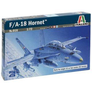 Model Kit letadlo 0016 - F/A-18C/D WILD WEASEL (1:72)