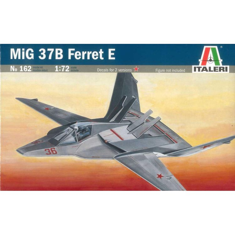 "Model Kit letadlo 0162 - MIG-37B ""FERRET"" E (1:72)"