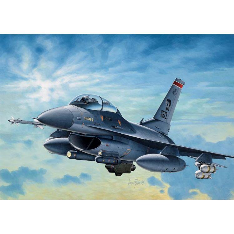 Model Kit letadlo 0188 - F-16C/D NIGHT FALCON (1:72)