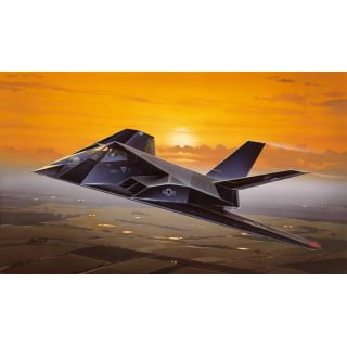 Model Kit letadlo 0189 - F-117A NIGHTHAWK (1:72)