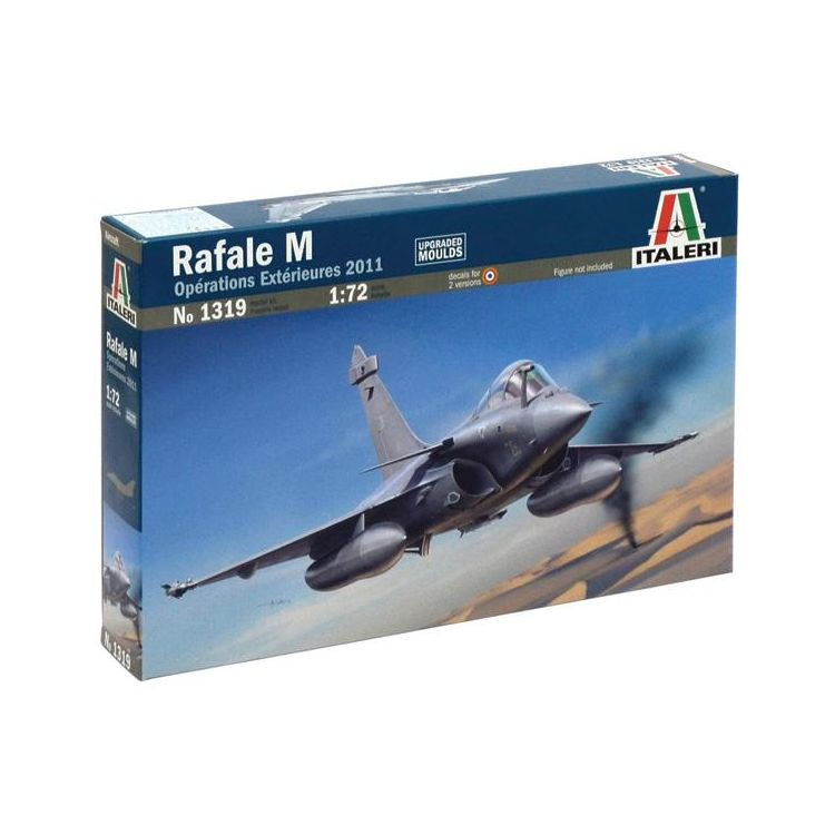 Model Kit letadlo 1319 - RAFALE M OPERATIONS EXTERIEURES 2011 (1:72)