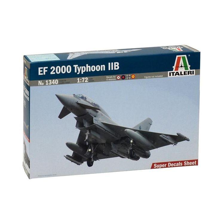 Model Kit letadlo 1340 - EF 2000 TYPHOON with seater (1:72)