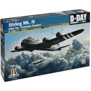 Model Kit letadlo 1350 - STIRLING MK.IV glidertug / par.transp. (1:72)