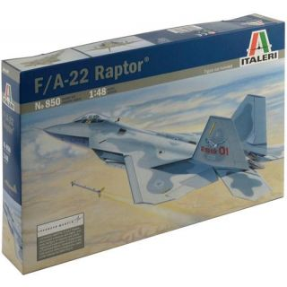 Model Kit letadlo 0850 - F-22 RAPTOR (1:48)