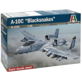 "Model Kit letadlo 2725 - A-10C ""Blacksnakes"" (1:48)"