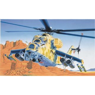 Model Kit vrtulník 0014 - MIL-24 HIND D/E (1:72)