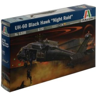 "Model Kit vrtulník 1328 - UH-60/MH-60 BLACK HAWK ""NIGHT RAID"" (1:72)"