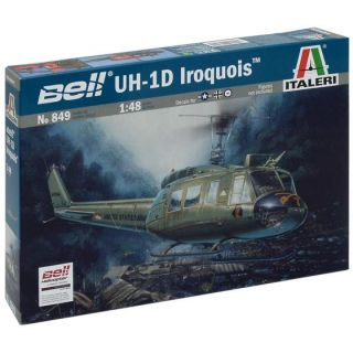 "Model Kit vrtulník 0849 - UH-1D ""SLICK"" (1:48)"