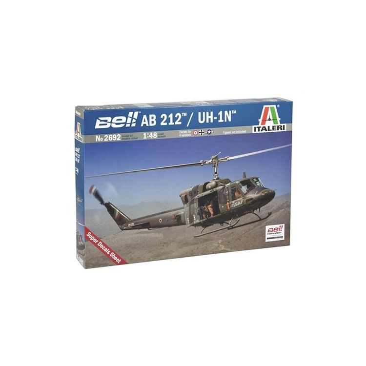 Model Kit vrtulník 2692 - AB 212 /UH 1N (1:48)