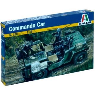 Model Kit military 0320 - COMMANDO CAR (1:35)