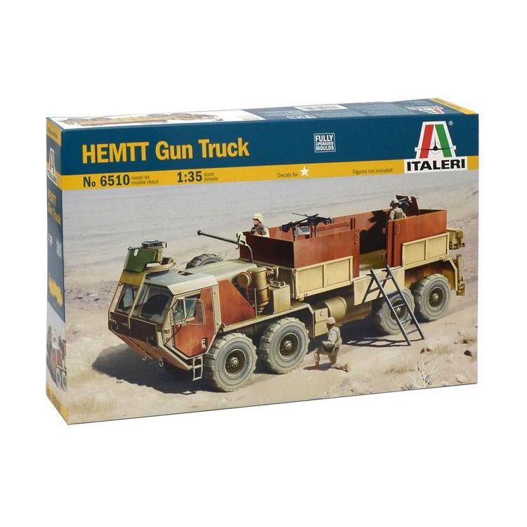 Model Kit military 6510 - HEMTT Gun Truck (1:35)