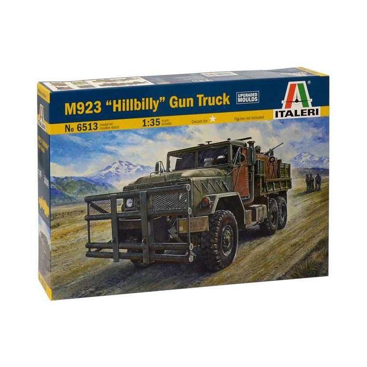 """Model Kit military 6513 - M923 """"HILLBILLY"""" Gun Truck (1:35)"""