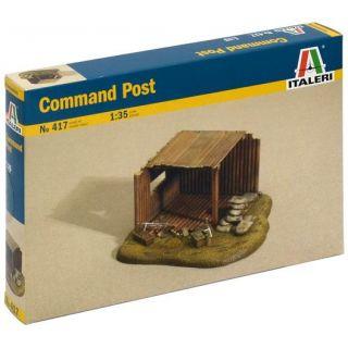 Model Kit budova 0417 - COMMAND POST (1:35)