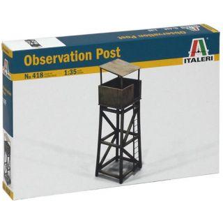Model Kit budova 0418 - OBSERVATION POST (1:35)