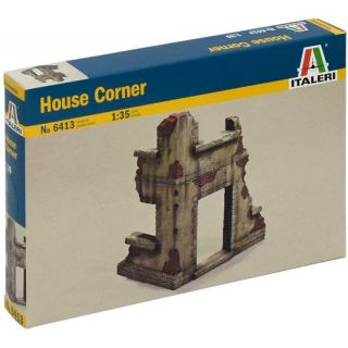 Model Kit budova 6413 - HOUSE CORNER (1:35)