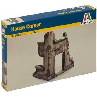 Model Kit budova 6413 - HOUSE CORNER (1:35)