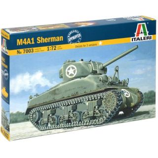 Model Kit tank 7003 - M4 SHERMAN (1:72)