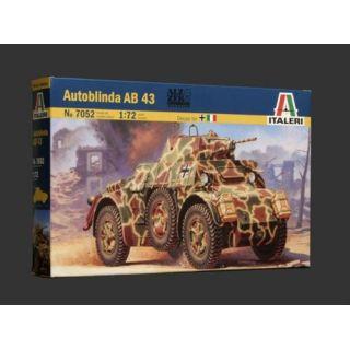 Model Kit military 7052 - AUTOBLINDA AB 43 (1:72)