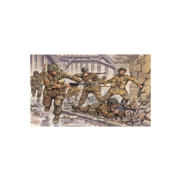 Model Kit figurky 6034 - WWII - BRITISH PARATROOPERS (1:72)