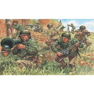 Model Kit figurky 6046 - WWII - AMERICAN INFANTRY (1:72)