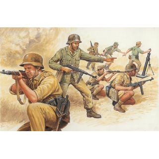 Model Kit figurky 6076 - WWII - GERMAN AFRIKA CORPS (1:72)