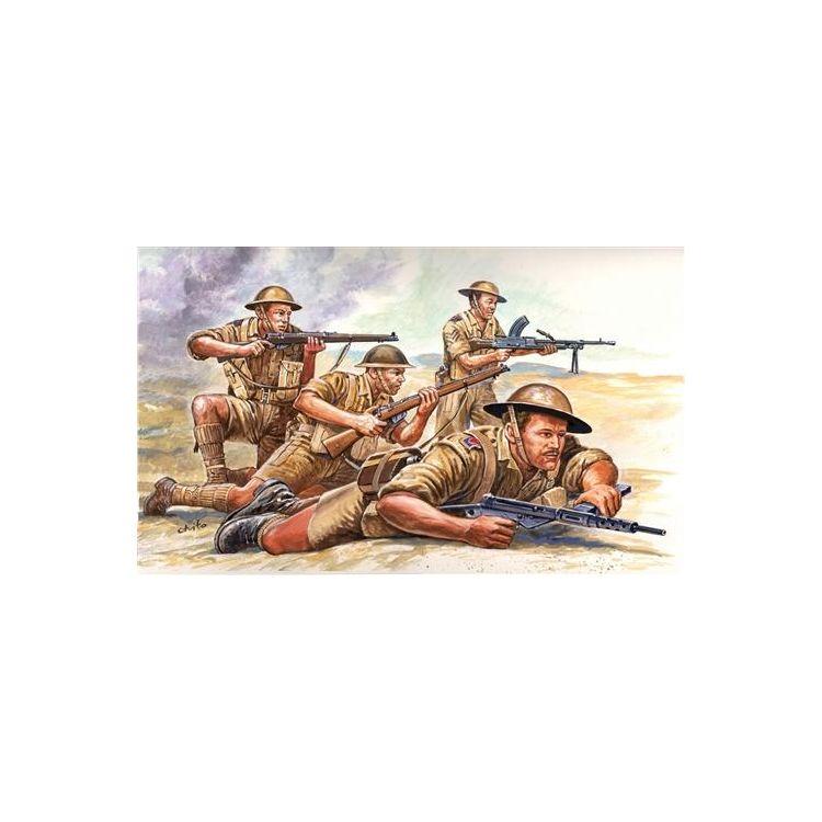 Model Kit figurky 6077 - WWII - BRITISH 8th ARMY (1:72)