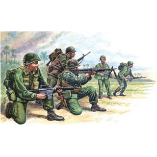 Model Kit figurky 6078 - VIETNAM WAR - AMERICAN SPECIAL FORCES (1:72)