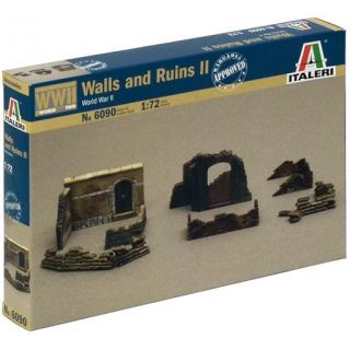 Model Kit doplňky 6090 - WALLS AND RUINS II (1:72)