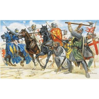 Model Kit figurky 6009 - CRUSADERS (XIth CENTURY) (1:72)