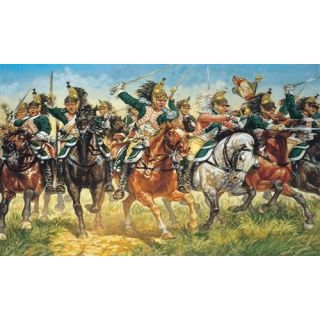 Model Kit figurky 6015 - FRENCH DRAGOONS (NAP. WARS) (1:72)