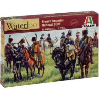 Model Kit figurky 6016 - FRENCH IMPERIAL GENERAL STAFF (NAP. WARS) (1:72)