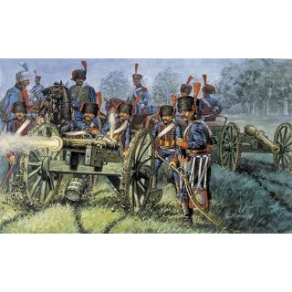 Model Kit figurky 6018 - FRENCH ARTILLERY (NAP.WARS) (1:72)
