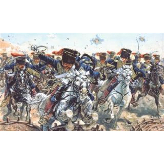 Model Kit figurky 6052 - BRITISH HUSSARS (CRIMEAN WAR) (1:72)