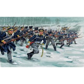 Model Kit figurky 6067 - NAPOLEONIC WARS: PRUSSIAN INFANTRY (1:72)