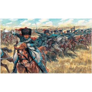 Model Kit figurky 6080 - NAPOLEONIC WARS - FRENCH LIGHT CAVALRY (1:72)