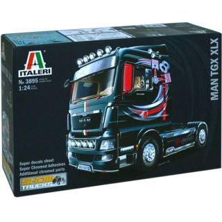 Model Kit truck 3895 - MAN TGX XLX (1:24)