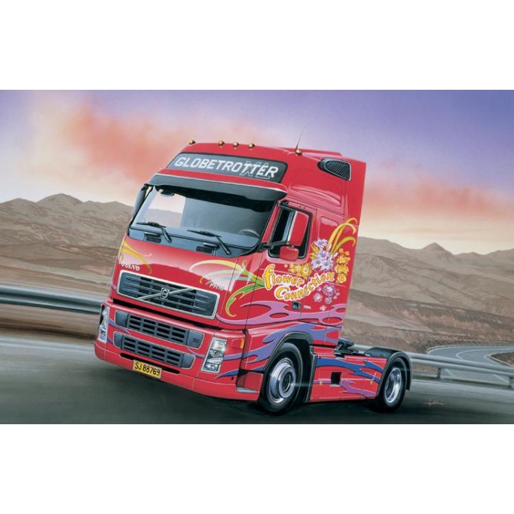 Model Kit truck 3821 - VOLVO FH16 GLOBETROTTER XL (1:24)