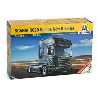 Model Kit truck 3858 - SCANIA R620 Topline New R Series (1:24)