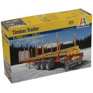 Model Kit návěs 3868 - TIMBER TRAILER (1:24)