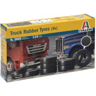 Model Kit doplňky 3889 - TRUCK RUBBER TYRES (8x) (1:24)