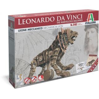 Leonardo Da Vinci 3102 - MECHANICAL LION (31,5 cm)