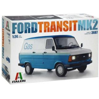 Model Kit auto 3687 - FORD TRANSIT Mk.2 (1:24)