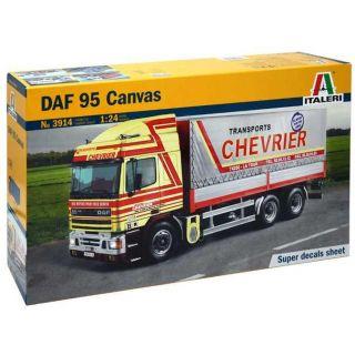 Model Kit auto 3914 - DAF 95 CANVAS (1:24)