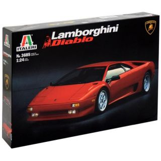 Model Kit auto 3685 - LAMBORGHINI DIABLO (1:24)