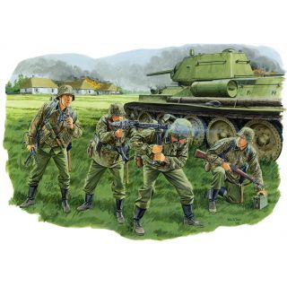 Model Kit figurky 6159 - PANZERGRENADIER, LAH DIVISION (KURSK 1943) (1:35)
