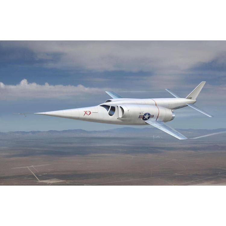 Model Kit letadlo 4637 - Douglas X-3 STILETTO (1:144)