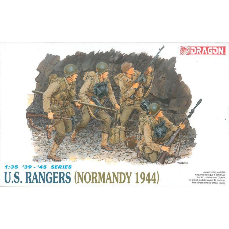 Model Kit figurky 6021 - U.S.RANGERS (NORMANDY 1944) (1:35)