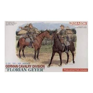 "Model Kit figurky 6046 - GERMAN CAVALRY DIVISION ""FLORIAN GEYER"" (1:35)"